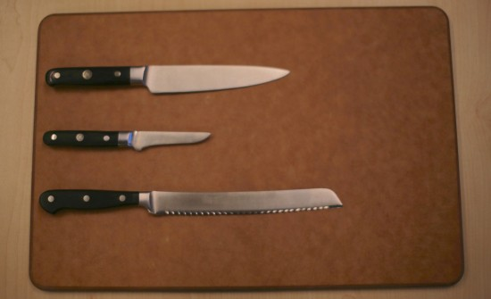 The Three Most Important Knives