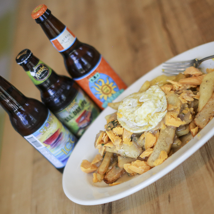 We're hosting a poutine & beer cooking class