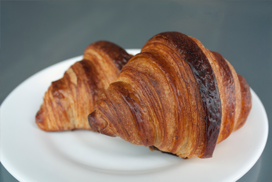 butter croissant from field & fire